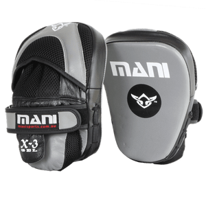 Pro Curved Leather Focus Pads - Mani Sports®