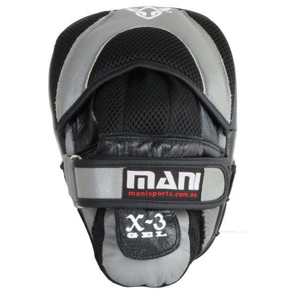 Pro Curved Leather Focus Pads - Mani Sports ®
