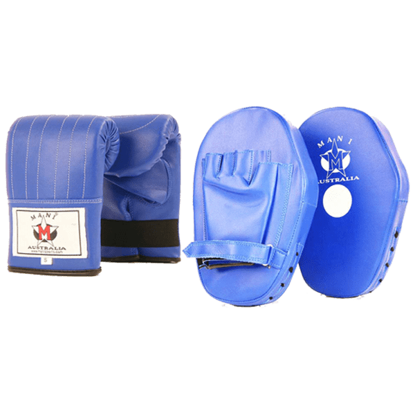 Curved Focus Pad and Bag Mitt - Mani Sports®
