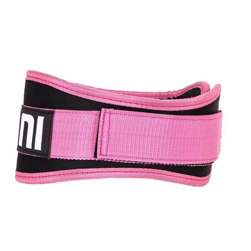 Synthetic Four Inch Pink Weight Training Belt - Mani Sports®