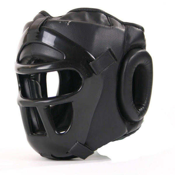 Grilled Head Guard with Detachable Face Shield - Mani Sports®