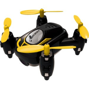 Riviera RC Micro Quad Wi-Fi Drone with 3D App - Black - RC Micro Quad Wi-Fi Drone with 3D App - Black 3D APP BLACK
