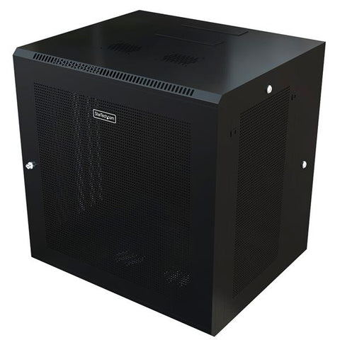 12U Wall-Mount Server Rack Cabinet - 24 in. Deep - Hinged