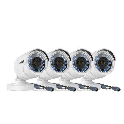 4X ANNKE 1080P HD IR Bullet Camera (plastic housing)