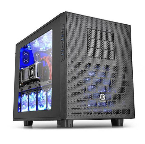 Thermaltake Core X9 CA-1D8-00F1WN-00 No Power Supply ATX Full Tower Cube Case (Black)
