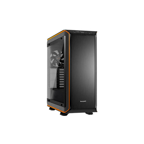 be quiet! Dark Base PRO 900 ORANGE rev.2 Full-Tower ATX Computer Case WINDOW, 3 Silent Wings 3 Fans, RGB LED's (BGW14)