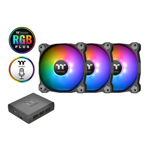 Thermaltake Pure Plus 140mm RGB Radiator Fan TT Premium Edition (3-Fan Pack)