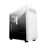 Apevia X-INFINITY-WH No Power Supply ATX Mid Tower w/ Side Window (White)