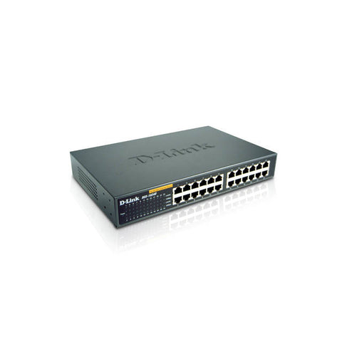D-Link DES-1024D 24-Port Fast Ethernet Unmanaged Desktop/Rackmount Switch