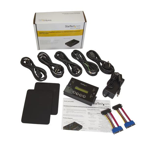 "Drive Duplicator and Eraser for USB Flash Drives and 2.5 / 3.5"" SATA Drives"