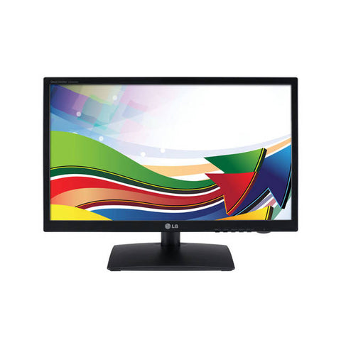 LG Electronics 23CAV42K-BL 23 inch 5,000,000:1 14ms VGA/DVI/USB/RJ45 LED LCD Monitor, w/ Speakers (Black Hairline)