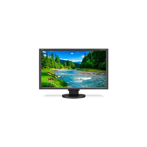 NEC MultiSync EA275WMI-BK 27 inch Widescreen 1,000:1 6ms HDMI/DVI/DisplayPort LED LCD Monitor, w/ Speakers (Black)
