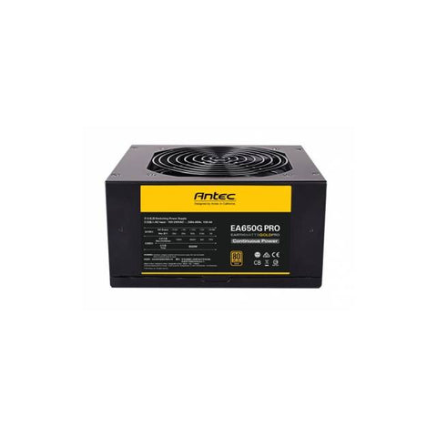 Antec EarthWatts EA650G PRO 650W 80 PLUS Gold ATX12V v2.4 Power Supply