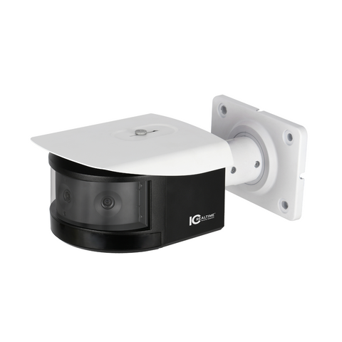 3-in-1 2MP Indoor/Outdoor Full-Size Bullet IR Network Camera