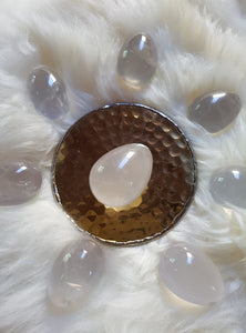 Clear Quartz Yoni Egg