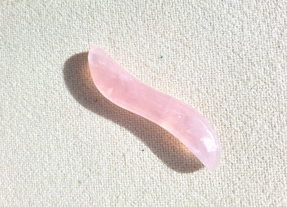 Rose Quartz Shakti Wand