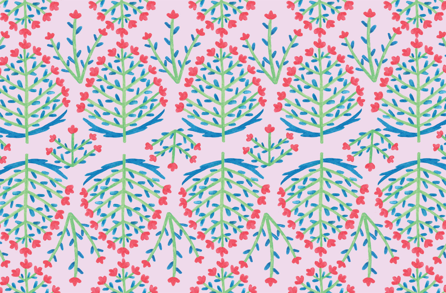 Lucy Grymes Designs - Block Print Paper Placemat Pad