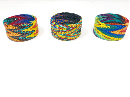Rainbow Flame Bangle