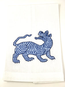 Tiger Guest Towel