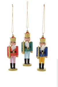 Tiny Nutcracker Ornament