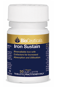 Iron Sustain Bioavailable Iron with Cofactors for Increased Absorption and Utilisation