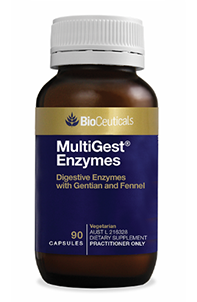 MultiGest® Enzymes Digestive Enzymes with Gentian and Fennel