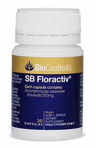 SB Floractiv® The Original Saccharomyces boulardii Supplement