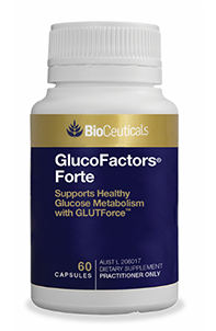 GlucoFactors® Forte Supports Healthy Glucose Metabolism with GLUTForce®