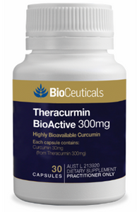 Theracurmin BioActive 300mg Highly Bioavailable Curcumin