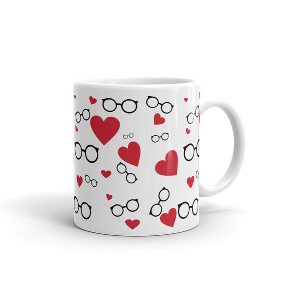 Hearts and Glasses Mug