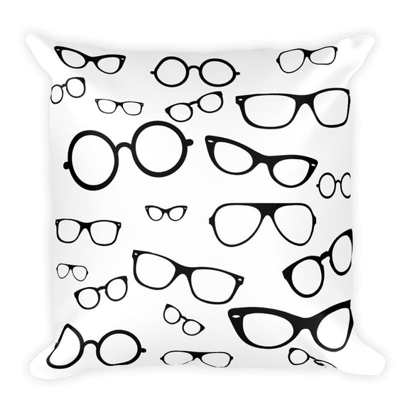 Lots of Glasses Basic Pillow