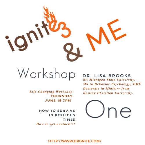 Ignite 3 & Me Workshop One