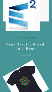 Your T-shirt Brand In 1 Hour LIVE