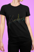 Load image into Gallery viewer, Kindness Tshirt, Kindness Inspirational Shirt, Positive Quote Tee For Women, Tshirt That Warm The Heart