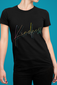 Kindness Tshirt, Kindness Inspirational Shirt, Positive Quote Tee For Women, Tshirt That Warm The Heart
