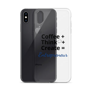Coffee Think Create iPhone Case