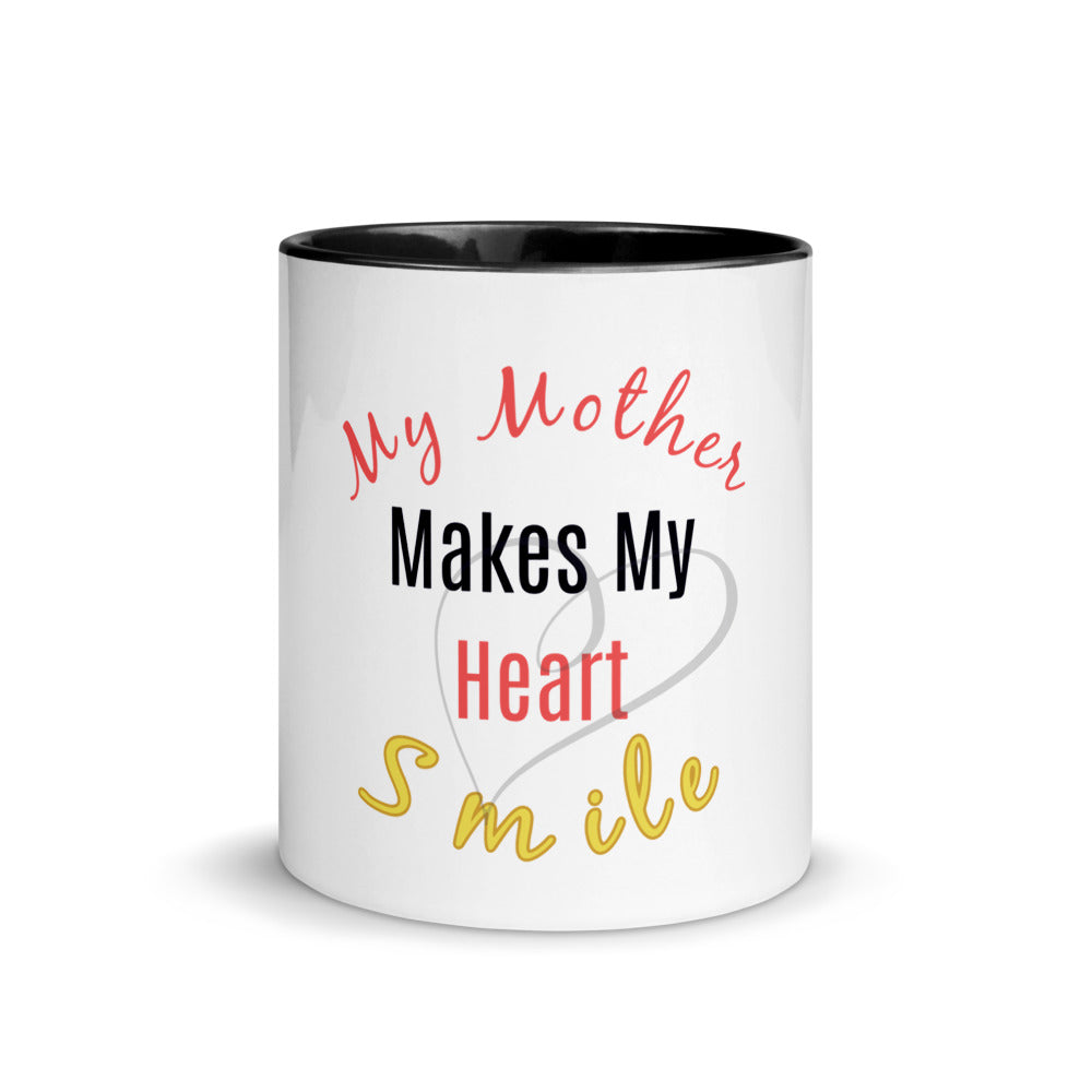 Mom Gift, Gift For Her, Best Mom Coffee Mug with Color Inside, Best Mom Gift, Mom Birthday Gifts, Mom Love Mug, Mudgom