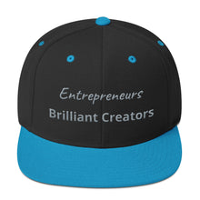 Load image into Gallery viewer, Entrepreneurs Brilliant Creators Snapback Hat - E2 Express