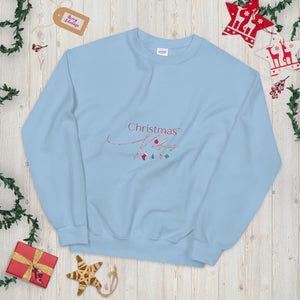 Christmas Vibes Unisex Sweatshirt, Great Christmas Gift, Gift For Christmas, Holiday Season, Good Vibes, Holiday Fun, Ugly Sweater, Christmas Sweater, Christmas