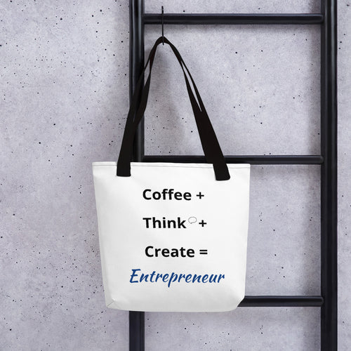 Coffee Think Create (Tote Bag) - E2 Express
