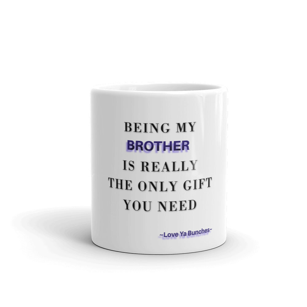 Brother Gifts, Brother Mug, Best Brother Gift, Brother Christmas Gift, Funny Brother Mug, Birthday Gift, Mugdom