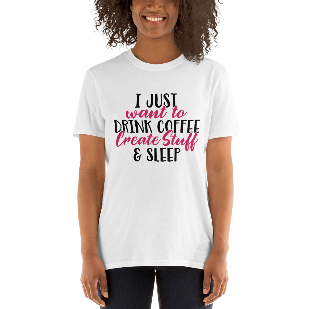 Coffee Create Sleep (Unisex T-shirt) - E2 Express