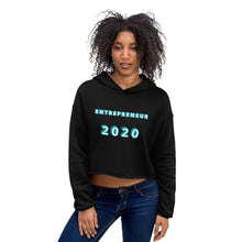 Load image into Gallery viewer, Entrepreneur 2020 Crop Hoodie - E2 Express