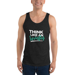 Think Like An Investor (Unisex Tank Top) - E2 Express