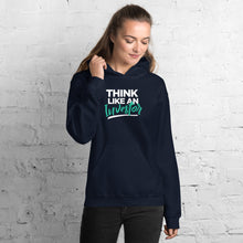 Load image into Gallery viewer, Think Like An Investor (Unisex Hoodie) - E2 Express