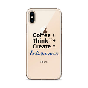 Coffee Think Create iPhone Case - E2 Express