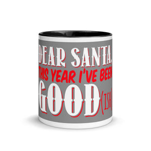 Gift For Her, Him And The Whole Family Dear Santa Best Seller Mug with Color Inside