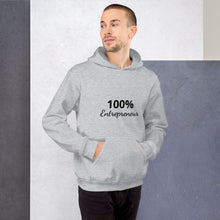 Load image into Gallery viewer, 100% Entrepreneur (Unisex Hoodie) - E2 Express