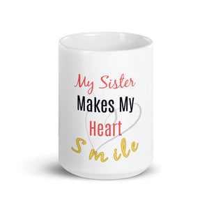 Best Sister Coffee Mug, Best Sister Gift, Sisters Birthday Gifts, Big Sister Little Sister, Sister Love Mug