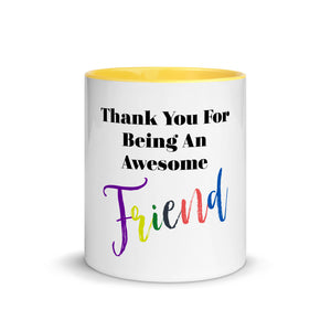 Best Seller Best Friend Gift, Thoughtful Mug with Color Inside